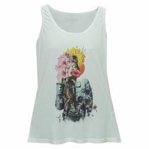Camiseta Regata Feminina Guess - Importado - Frete Grátis