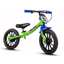 Bicicleta Balance Bike Sem Pedal - Menino Infantil Nathor