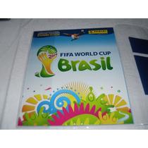 Álbum De Figurinhas Copa Mundo 2014 Capa Dura Completo