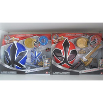 Power Ranger Samurai Training Gear Fogo E Agua - Bandai.