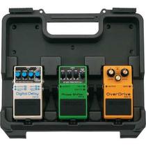 Case Para 3 Pedais Boss Bcb30 Mini Guitarra Mais Acessórios