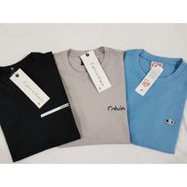 0e3538d4c2 Kit 5 Camisetas Camisas Masculina Baratas Marcas Famosas à venda em ...