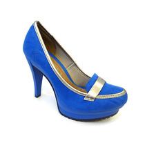 Sapato Feminino Azaleia Com Salto Fino - 962/333