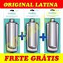 Kit 3filtro Purificador Refil Latina 3 Estagios Frete Gratis
