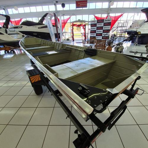 BARCO PESCA ESPECIAL PR 600 SPORT MOTOR 30 HP 2T + CARRETA