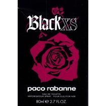 Perfume Black Xs Feminino Paco Rabanne 80ml Edt Importado