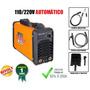 Maquina Solda Inversora 200 Amp Bivolt 110/220v Smart Inarc