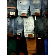 Calça Jeans Kit C/3 Peças Lacoste Abercrombie Hollister
