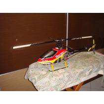 Helicoptero T-rex 500 Novissimo + Controle Futaba T6j Novo