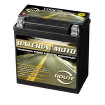 Bateria Route Selada Modelo Ytx16-bs P/ Motos 12 Volts 14 Ah