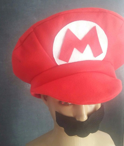Fantasia Boina Super Mario Bros! Pronta Entrega! - R  24 en Melinterest 03bcc23d076