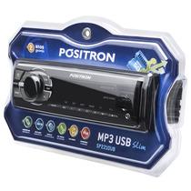 Mp3 Player Positron Sp2210 Ub Usb Auxiliar Rca Auto Radio