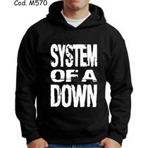 Blusa Moletom System Of A Down Otima Qualidade!