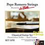 Encordoamento (cordas) P/ Violão La Bella Pepe Romero Gfh