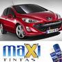 Tinta Spray Automotiva Peugeot Vermelho Lucifer + Verniz