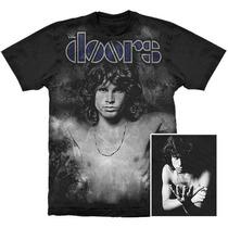 Camiseta Premium The Doors Jim Morrison Stamp