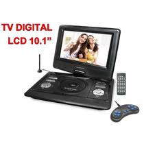 Dvd Portatil Powerpack 1063 Tv Digital + Jogos Tela 10.5¨