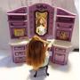 Salão Musical Da Boneca Barbie Acende Luzes Tem Sons Usado