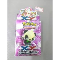 Brinquedo Antigo,jogo De Cartas Card Pokémon Punos De Furia