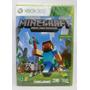 Jogo Minecraft Português Xbox 360 Novo Lacrado Midia Fisica
