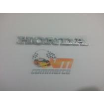 Emblema Honda Cromado Para Civic E Etc.