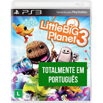 Little Big Planet 3 - Ps3 Mídia Física Lacrado Português Br