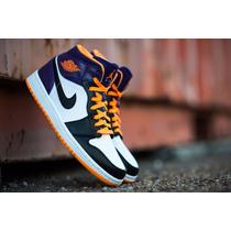 Tênis Nike Jordan 1 Phoenix Suns - Retrô - Sneaker - Og