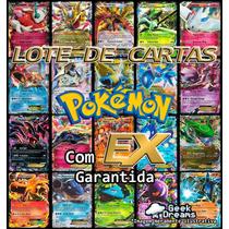 Lote Carta Pokémon Tcg Xy 1 - 8 + Ex + Holográfica + Brinde