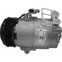 Compressor Delphi Astra/zafira Polia 6pk Com Filtro Secador