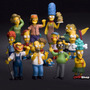 Kit Com 14 Personagens Simpsons Pronta Entrega