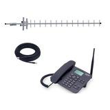 Kit Telefone Celular Rural Mesa 2 Chip Aquário Desbloqueado