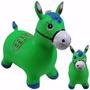 Brinquedo Cavalinho Pula Pula Inflável Upa Upa Verde C/som