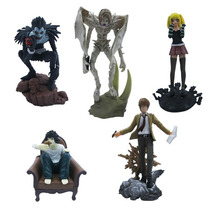 Kit 5 Pcs Bonecos Death Note - Action Figure - Mercadoenvios