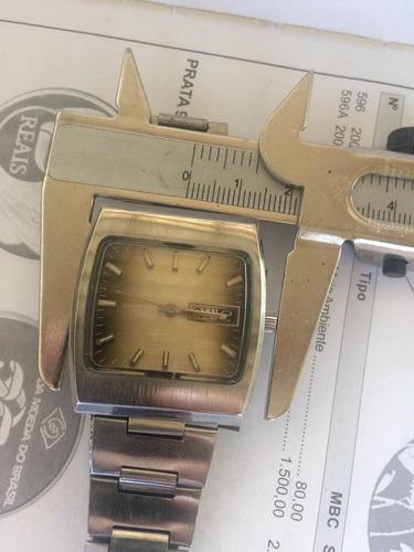 0f2e18617c8 Relógio Eska Compressor Raridade! (leia Descrição)