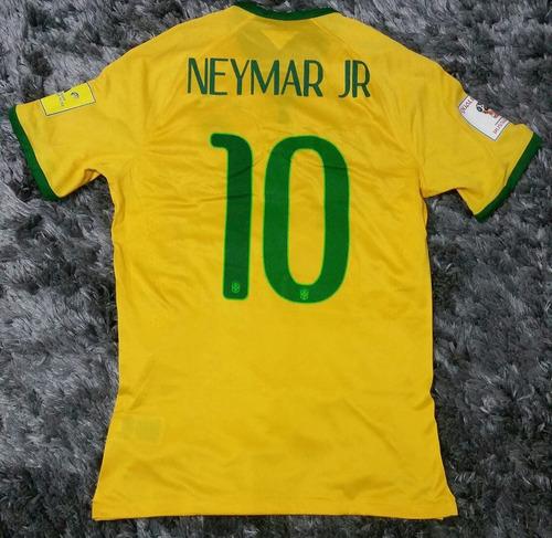 Camisa Nike Seleção Brasileira I Home  11 Neymar Jr De Jogo ff058760a1261