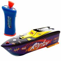 Lancha De Corrida Aqua Racers Com Controle Br206 - Multikids
