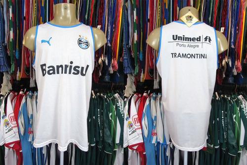 493713f0ba Grêmio 2008 Camisa Regata Branca Tamanho Gg