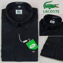 Camisa Social Lacoste 100% Importado/original