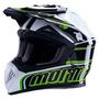 Capacete De Motocross Mormaii Yucca Green Fs 603