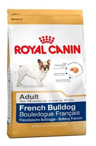 Ração Royal Canin Bulldog Francés Breed Health Nutrition Cachorro Adulto Raça Pequena 7.5kg
