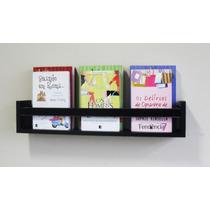 Revisteiro Prateleira Decorativa Livros 60 L X 11,5 A X 10 P