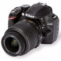 Nikon D3200 Lente 18-55mm 24 Mp Câmera Digital Foto Momentos
