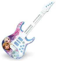 Guitarra Eletrônica Frozen Com Efeitos De Luz 27191- Toyng