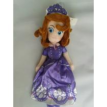 2 Boneca Pelúcia Princesa Sofia + Brinde