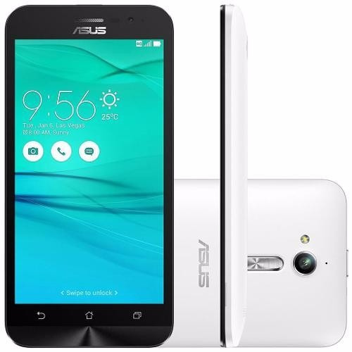 Celular Asus Zenfone Go Lte Zb500kl Branco 16gb Tela 5 ´ ´