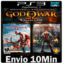 God Of War Collections Psn Ps3 Playstation3 - Envio Imediato