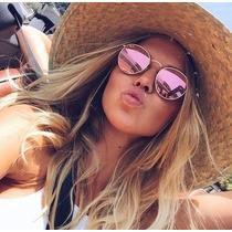 50a17ae8fdaa4 Busca oculos espelhado rosa com os melhores preços do Brasil ...