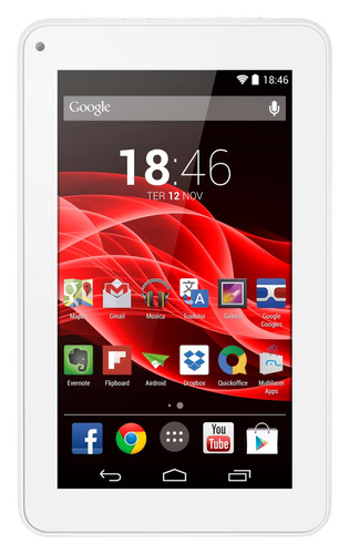 Tablet Supra Quad Core Branco Multilaser Nb200 Mania Virtual