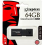 Pen Drive Kingston Usb 3.0 64gb G3 Dt100 - Novo - Lacrado