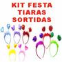 Kit Festa C/ 50 Tiaras - Festa, Casamento, 15 Anos, Balada